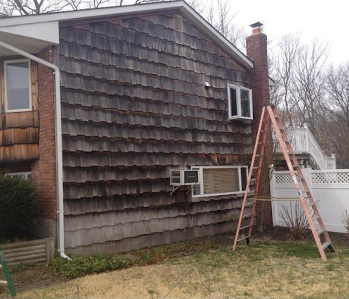 SERVPRO of Old Bridge/Cranbury Power Washing  Before