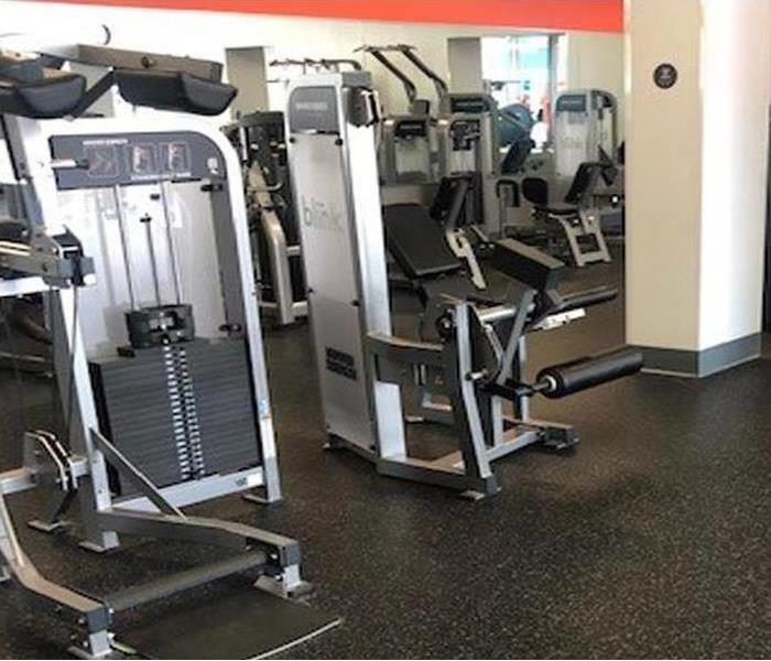 commercial gym equipment in community facility