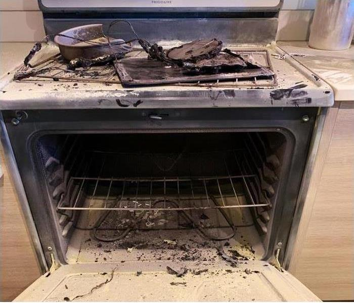 Kitchen Fire Damage – Franklin Township, NJ