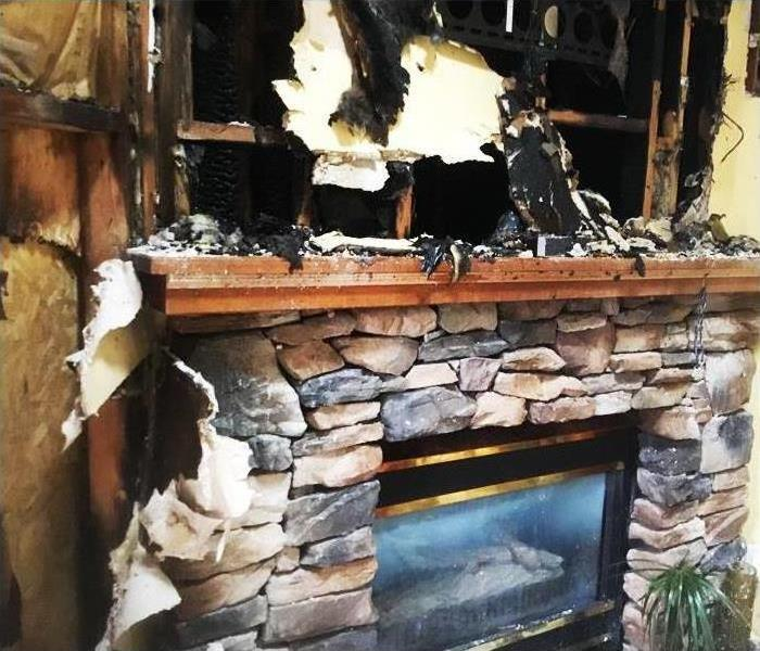 Manalapan, NJ Fireplace Fire, Soot & Smoke Damage