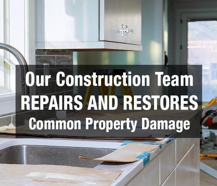 Building Services The SERVPRO of Old Bridge/Cranbury Construction Team can help Repair and Restore these 5 Common Property Damage Areas.