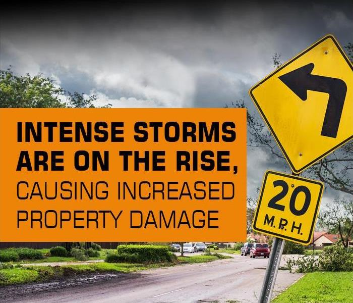 Water Damage More Intense Storms are on the Rise, Bringing More Damage to Your Old Bridge or Cranbury, New Jersey Home or Commercial Property.