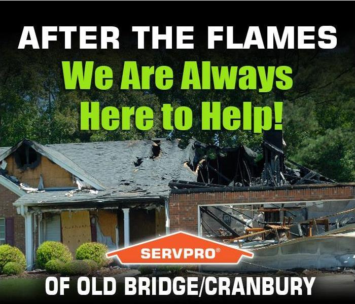 Fire Damage FIRES HAPPEN! Once the fire is out, the recovery process begins. SERVPRO of Old Bridge/Cranbury is here to help!